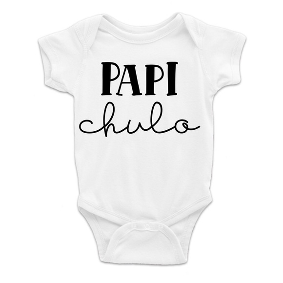 Papi Chulo Cotton Baby Bodysuit One Piece